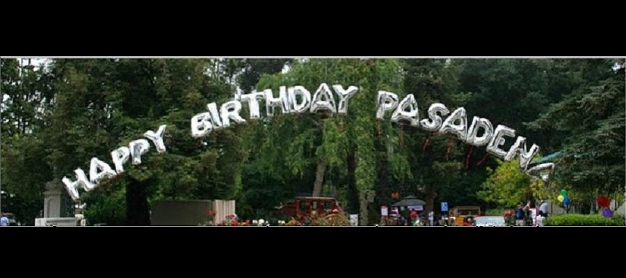 Happy Birthday Pasadena