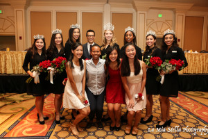 Pasadena Jaycees Interns Volunteering at the Queen's Breakfast for the Rose Queen and Court