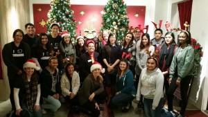 Pasadena Jaycees Interns Helping at One Colorado Event for Operation Santa