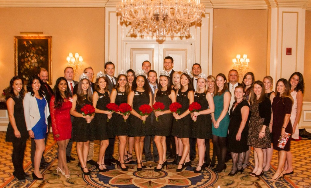 2015 Rose Court with the Pasadena Jaycees