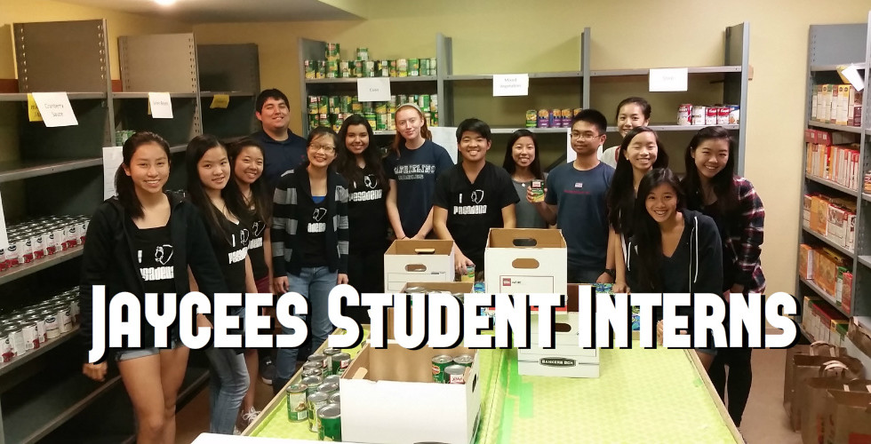 Pasadena Jaycees Student Interns